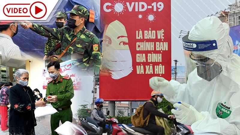 [Infographic] Phòng chống dịch Covid-19 tại Việt Nam: Những dấu ấn nổi bật