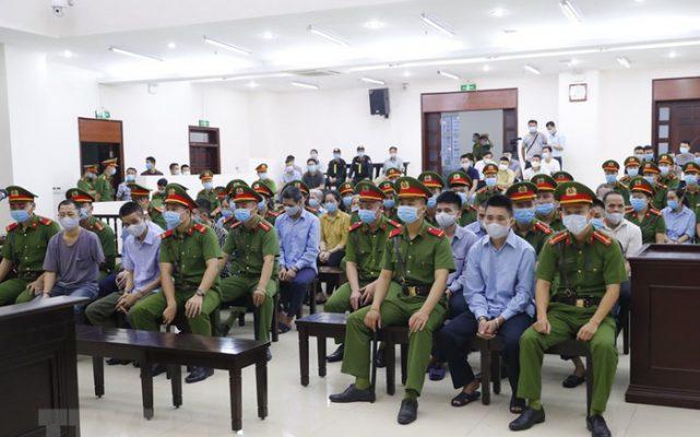 Phiên tòa xét xử vụ Đồng Tâm
